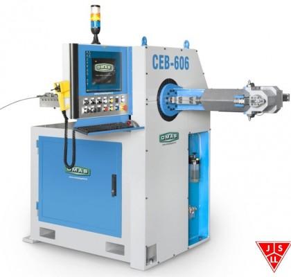 Curvadora de Varilla 3 Dimensiones CNC CEB 606