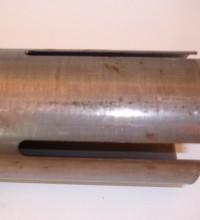 Entallado Punzonadora de Extremos de Tubo PET