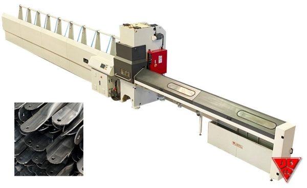 Linea Automatica de Punzonado, Embuticion y Corte de Tubo
